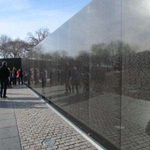 Memorial aos Veteranos do Vietnam (The Wall) / Vietnam Veterans Memorial (The Wall)
