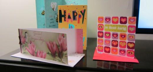 Postais de aniversário / Verjaardag kaartjes