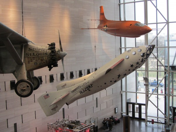 X1, SpaceShipOne and Spirit of St Louis